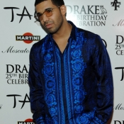 Drake Celebrates His 25th Birthday At TAO Nightclub in Las Vegas
