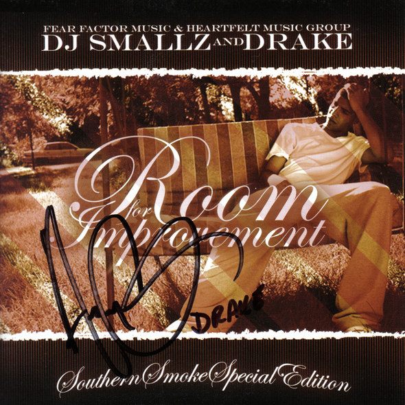 rfi drake hustlegrl autograph Mixtape: Drake   Room for Improvement (No DJ + Untagged Selections)