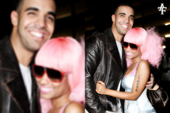 "nicki minaj and drake wedding pics. ""Please refer to @nickiminaj"